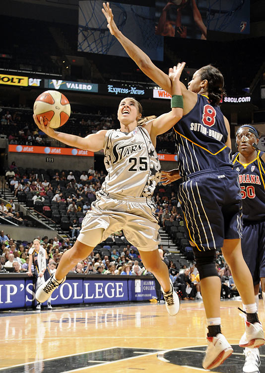 Twelve-year veteran Becky Hammon, who averages 15.1 points and 5.4 assists and leads in the league with her 96% accuracy from the free throw line, has done a lot in her career, including winning an Olympic bronze as a member of the Russian team in 2008. But she has never won a WNBA title. She'll get her next shot starting on Thursday, when the Silver Stars face Phoenix in Game 1 of the conference semifinals.