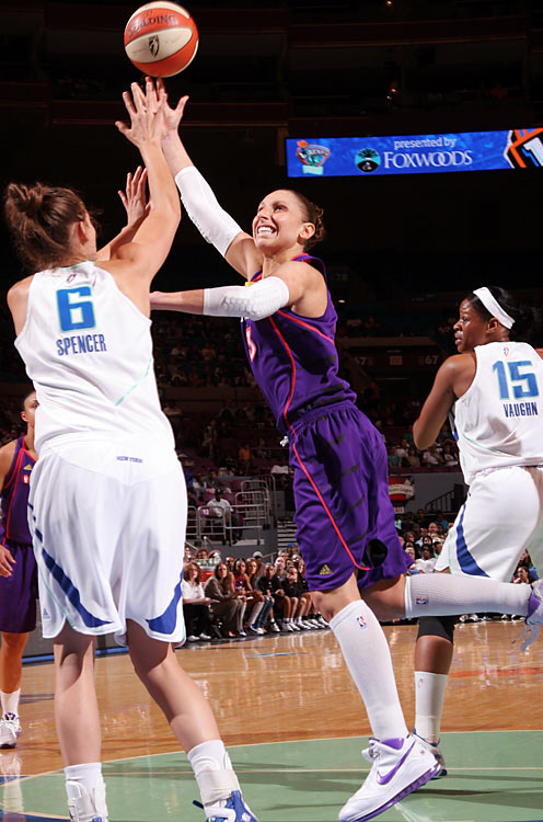 Diana Taurasi, the reigning league MVP and a highly paid star overseas, caused a stir earlier this summer when she said she was considering a break from the WNBA next year. Now that she has resolved the issue by signing a multiyear contract extension, she faces the herculean task of leading the Mercury -- ow minus Taurasi's former running mate Cappie Pondexter -- to its third title in four years.