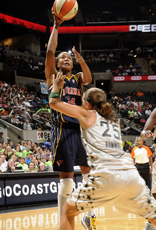 Tamika Catchings, a three-time Defensive Player of the Year, has been an offensive force this year for the Indiana Fever, which is trying to win its first WNBA title. A .403 career shooter going into the season, she has shot .492 from the field this year--including 43% from the three-point line--to average 18.2 points a game.