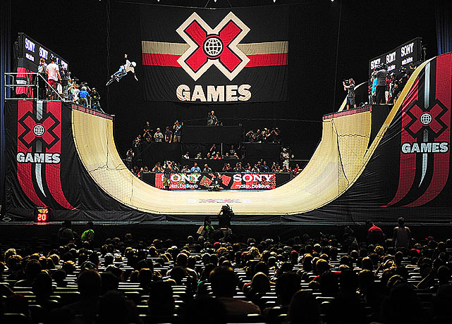 SI photographer Robert Beck was at the X Games in Los Angeles last week. Here are some of his best shots from the competition. Here is part of the BMX vert competition at the Nokia Theater.