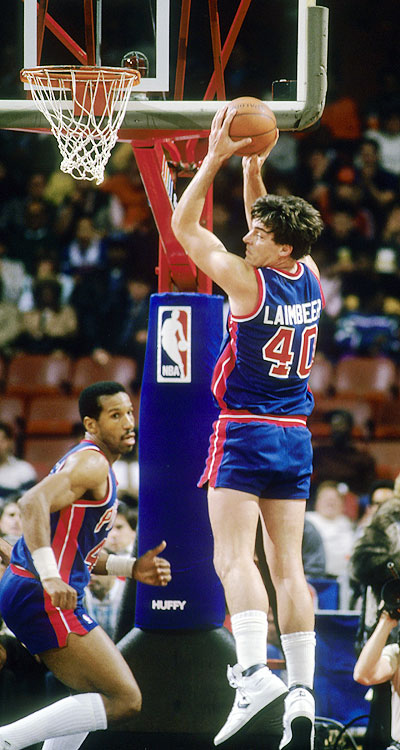Before the  Bad Boys  , the flops and the infamous elbows, Bill Laimbeer was a third-round pick out of Notre Dame just trying to keep his NBA dream alive. Drafted by the Cleveland Cavaliers in 1979, Laimbeer was forced to play overseas for a year in Italy with Pinti Inox. Upon returning to the NBA, he languished on the Cavaliers bench for two years before being traded to the Pistons, where he would spend the rest of his career.
