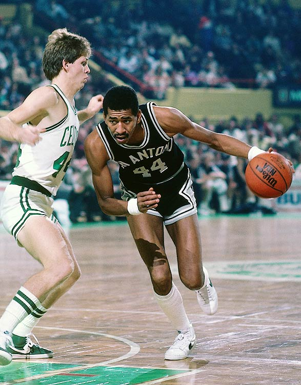 One of the most prolific scorers in NBA history, Gervin wasn't ready to hang up his high tops when he retired from the NBA in 1986. He played one season in Italy with Banco Roma and one in Spain with TDK Manresa.  Though Gervin had lost some quickness, his scoring prowess remained, evident by his 26.1 points per game with Banco Roma.