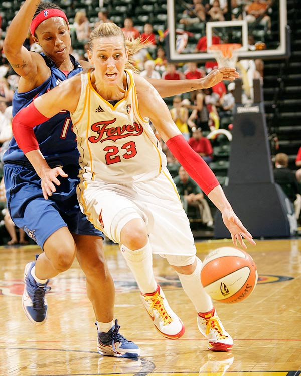 The defensive compliment to Tamika Catchings, Katie Douglas was named to her second-consecutive All-WNBA team and the fourth of her career. Douglas, who averaged 1.4 spg, was also named to the WNBA All-Defensive second team.