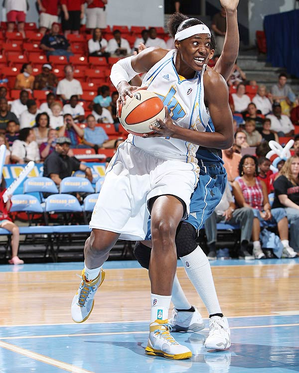 This is Fowles first year as a member of the All-WNBA first team.  She averaged 17.8 ppg, 9.9 rpg and led the WNBA with 2.6 bpg.