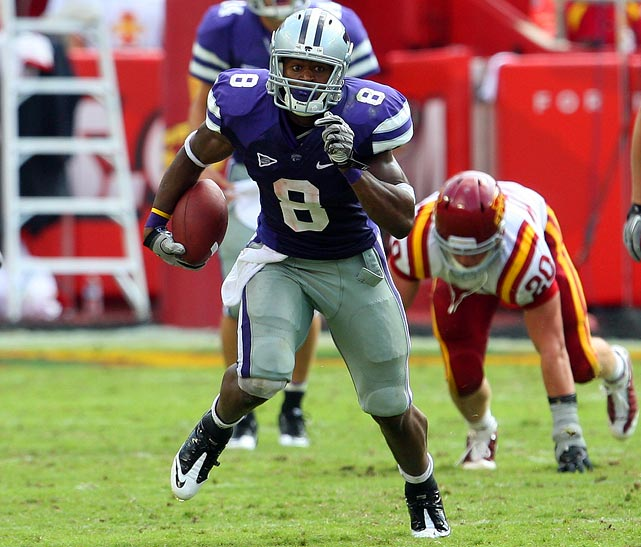 "Last Week:  34 rushes for 181 yards and two TDs in 27-20 win over Iowa State.   Season:  83 rushes for 552 yards and six TDs; two receptions for 15 yards.  Thomas carried the ball 34 times vs. the Cyclones, while K-State attempted all of 12 passes.  Bill Snyder  basically said,  ""This is what we're going to do. Try and stop it.""  Thomas has come through, but you do have to wonder how much of this he can take. The 6-foot-2, 228-pounder is on pace for a career-high 332 carries after running 247 times last year; and he played the second half of '09 with a shoulder injury.   Next Up:  Saturday vs. UCF"