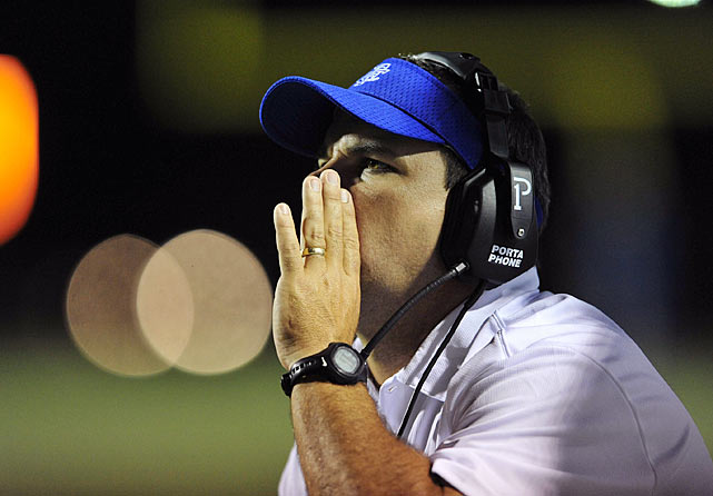 """Coach Berner and his assistants are a de facto family for their players.  """"They are their fathers when [their fathers] aren't here,"""" one player's mother said. """"If I needed to, I would sign my son over to them -- and they'd take him."""""""