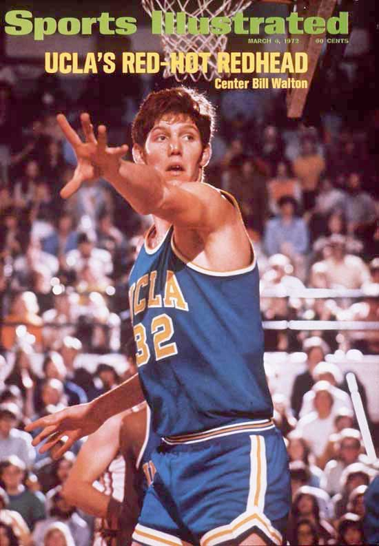 Born in La Mesa, Calif., Bill Walton spearheaded the UCLA basketball dynasty during the John Wooden era.  From 1971 to '74, Walton led the Bruins to a men's Division I record 88 consecutive wins, including two national championships.  He also won the Naismith Award for the College Basketball Player of the Year three times.