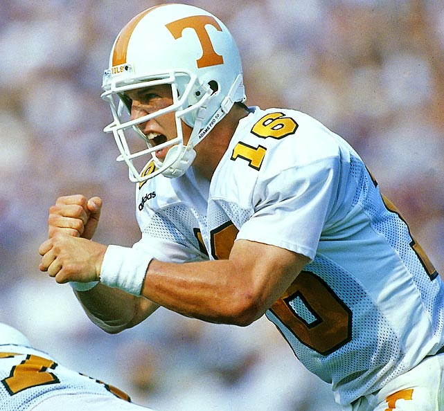 More than just stellar statistics, Heisman Trophy winners are expected to embody diligence, perseverance and hard work.  No one fits that definition better than Peyton Manning, who put the Tennessee Volunteers on his back to lead them to a comeback victory over Auburn in the SEC Championship game.  Cornerback Charles Woodson, whose Michigan Wolverines finished the year as national champions, beat out Manning though.