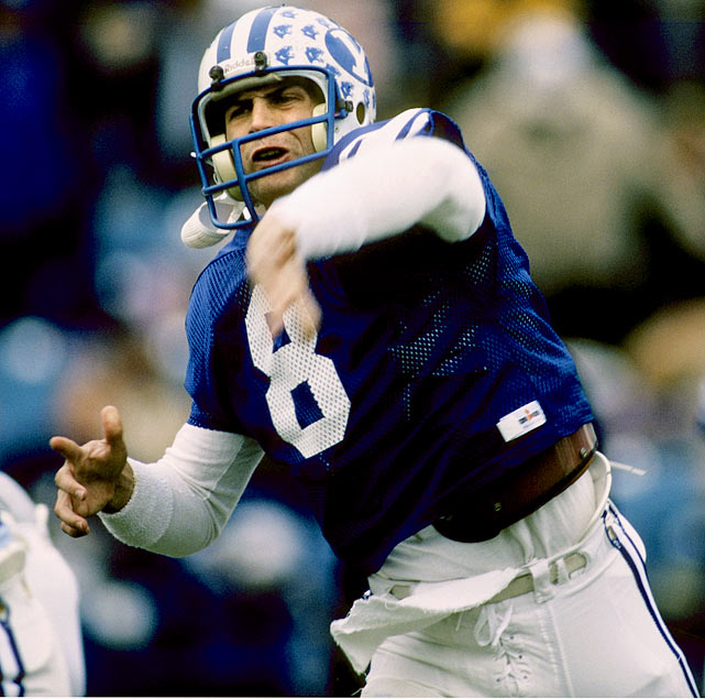 After initially struggling to make the transition to collegiate quarterback, Steve Young flourished in his senior season at BYU, setting an NCAA record for completion percentage with 71.3 percent.  His gaudy statistics couldn't compare with Nebraska's Mike Rozier ,  who rushed for 2,148 yards and 29 touchdowns en route to the 1983 Heisman Trophy.