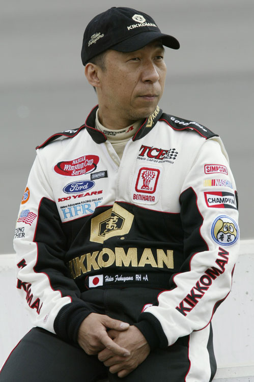 In 2002, Hideo Fukuyama made his Winston Cup debut and became the first Japanese driver to compete in NASCAR. His career would be short-lived after Travis Carter Motorsports shut its doors.