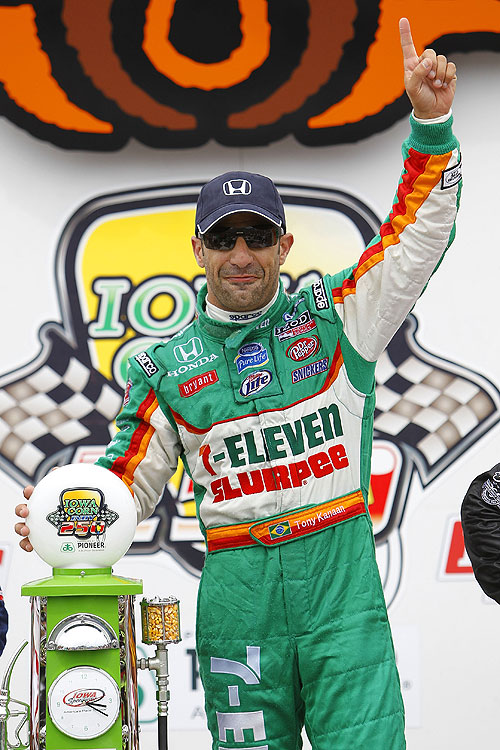 Brazil native Tony Kanaan has authored 14 wins in the IndyCar Series since 2003. Kanaan is of Lebanese descent.