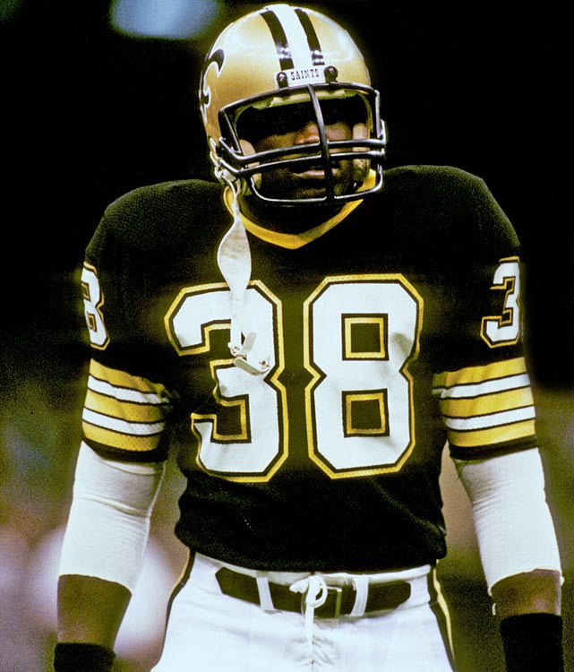 The first of four Heisman Trophy winners selected by the New Orleans Saints, George Rogers is arguably the most successful.  In an opening game romp against the then-St. Louis Cardinals, Rogers ran for 206 yards, a Saints' single-game record and the fourth-highest rushing total in NFL kickoff weekend history.