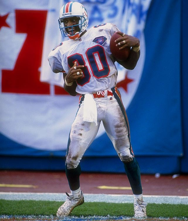 Somebody had to be the recipient of Dan Marino's spectacular opening week, and while Irving Fryar didn't lead the team in receptions, he did pace the team with 211 receiving yards and three touchdowns. Even more impressively, Fryar had been held to zero catches during the first half.