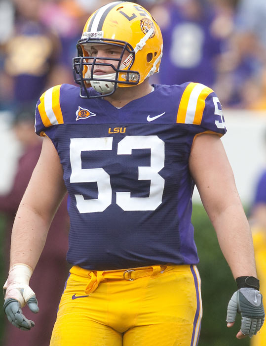 Coming off an unremarkable 2008 season, LSU center Bob Hebert posted a noteworthy 2009, starting 11 games for the Tigers and contributing 42 knockdown blocks. Hebert was suspended indefinitely after being arrested for a DWI charge in May though, and the son of former New Orleans Saints and Atlanta Falcons quarterback Bobby Sr. has not seen any playing time since.