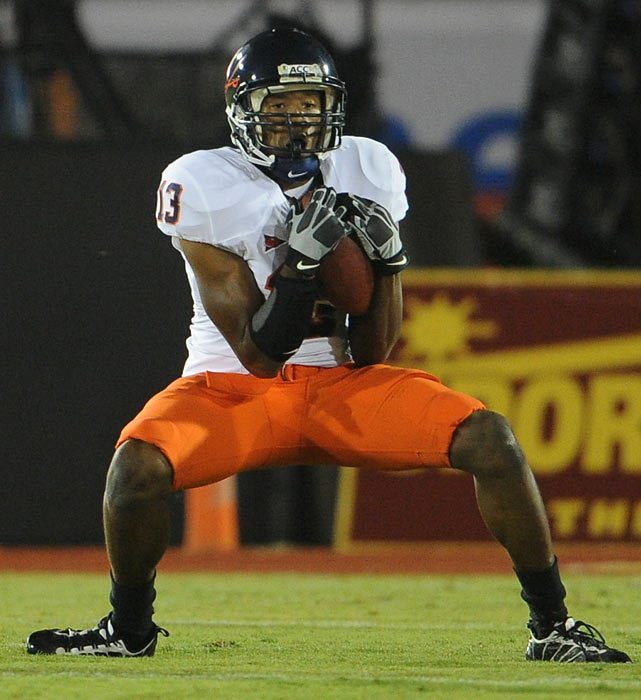 A cornerback at Virginia, junior Chase Minnifield has been dominant early in the 2010 season, tallying three interceptions during the Cavaliers 2-1 start.  The son of former Cleveland Browns cornerback Frank, Minnifield has been equally dynamic as a kick-return specialist, sprinting for 513 return yards in 2009.