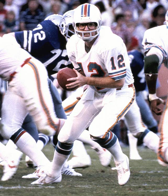 A backup at the start of the season, Miami Dolphins quarterback Bob Griese won back his starting role after leading the team to comeback wins against the Atlanta Falcons and New Orleans Saints. A shoulder injury sidelined Griese for the rest of the season though, and eventually forced his retirement on June 25, 1981.
