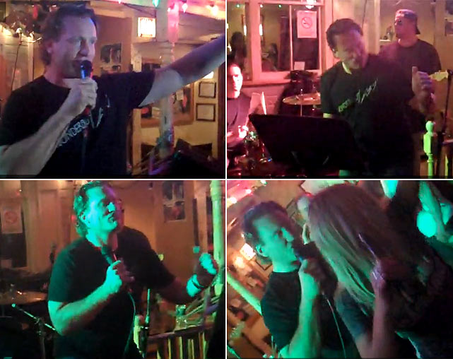 The former NHL star and current NBC analyst has long been known for running his mouth, and that's exactly what he did with a karaoke version of the Tone-Loc classic at Stanley's, a Chicago watering hole, in June 2010.   Click here for video.