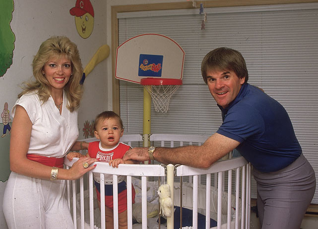 Rose and Carol Woliung play with Tyler at their home in Cincinnati.