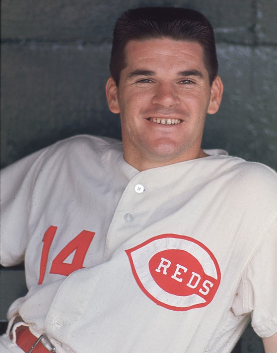 Rose started the 1968 season with a 22-game hit streak and never slowed down, winning the first of three batting titles with an average of .335.