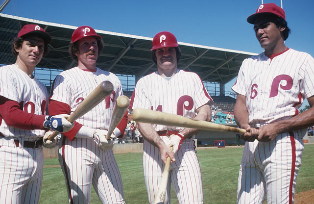 In 1979, the Phillies made Rose the highest-paid athlete in team sports when they signed him to a four-year, $3.2 million contract as a free agent. In Philadelphia, Rose joined a core of Larry Bowa, Mike Schmidt and Manny Trillo. The Phillies would go on to win the World Series the following season.