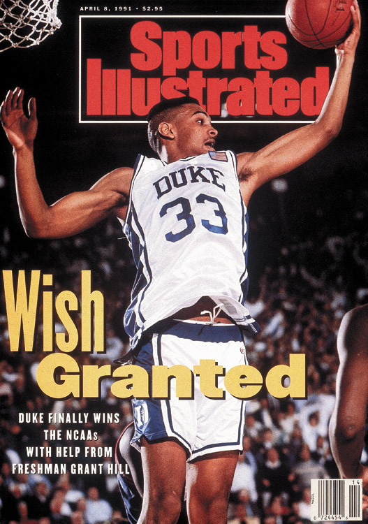As a freshman, Hill helped the Blue Devils upend unbeaten UNLV in the 1991 semifinals -- a rematch of the previous year's national championship game, won handily by the Runnin' Rebels -- and then defeat Kansas 72-65 in the final for Duke's first championship.