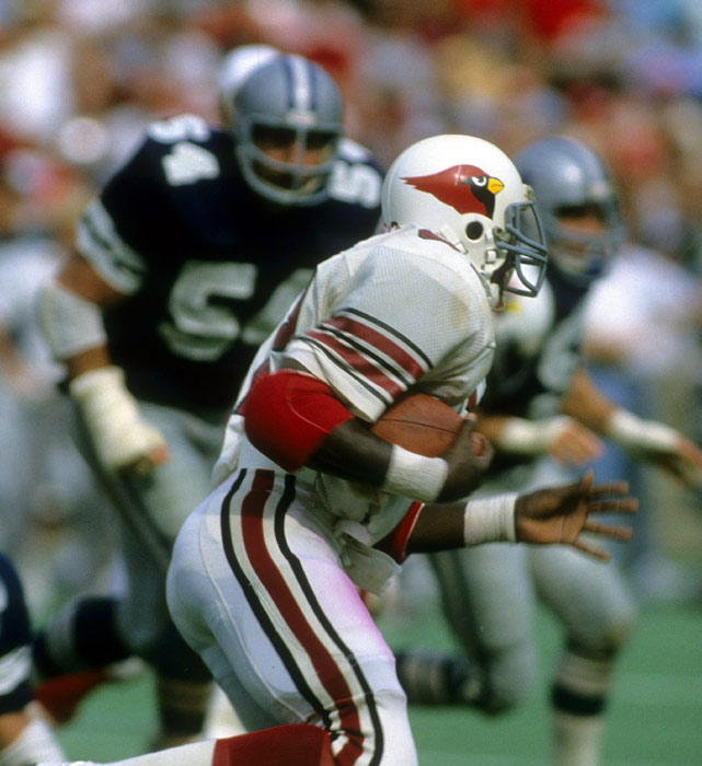 In his first game as an NFL pro, Ottis Anderson racked up 193 yards on 21 carries against the Dallas Cowboys. Anderson would go on to be named the NFL's Offensive Rookie of the Year that season and would later win two Super Bowls in his career, including the 1991 title with the Giants when he was named the game's MVP.
