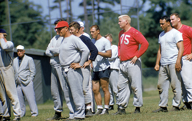 Lombardi's first NFL coaching position was with the New York Giants, where he served as an assistant on a staff that included Tom Landry. The two helped lead the Giants to a championship in 1956.