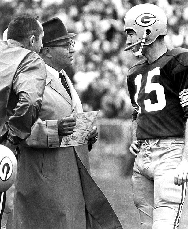Much of Lombardi's success at Green Bay can be attributed to quarterback Bart Starr, who threw for nearly 25,000 yards and won two Super Bowls under the coach.