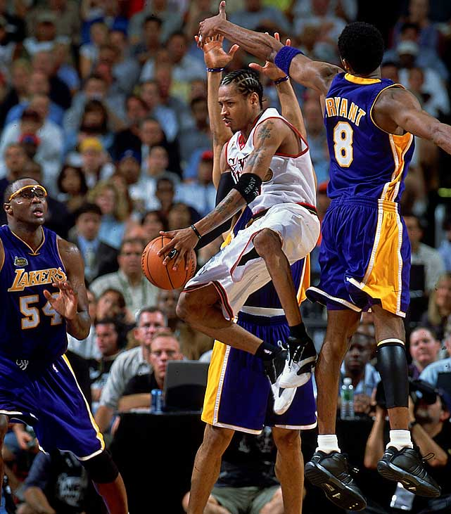 The dynamic Iverson has secured his spot in the NBA record books, ranking 17th in total points (24,368) and 12th in total steals (1,983) over a remarkable 14-year career.