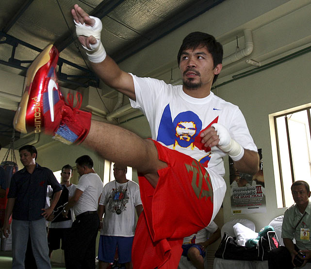 """It was an honor to fight in the first world championship held at Cowboys Stadium. Jerry Jones was a wonderful host,"" said Pacquiao, who was named ""Fighter of the Decade"" for the 2000s by the Boxing Writers Association of America. ""I look forward to returning to Cowboys Stadium and fighting before the wonderful fans in North Texas. I know Antonio Margarito poses great challenges for me but Freddie Roach and I will train our hardest to win. I am fighting for more than pride or history. I am fighting for the glory of the Philippines."""