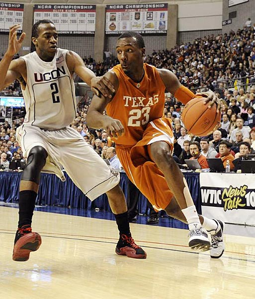 College players often make their biggest jump in productivity between freshman and sophomore year, and that should be the case with this Texas wing. A five-star recruit out of high school, Hamilton averaged 10 points and 3.7 rebounds per game off the bench as a true freshman, but he'll be taking on a central role for this season's Longhorns. He displayed flashes of brilliance last season (27 points in just 19 minutes at Oklahoma State), but also struggled mightily at times. Look for a more consistent showing in 2010-11.