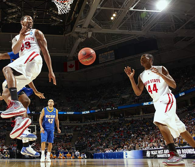 Buford (right), a 6-foot-5 shooting guard, is the Buckeyes' next pro prospect in the backcourt; he was overshadowed by Wooden Award winner Evan Turner last season, but is projected by DraftExpress as a second-round pick in 2011. Lighty (left) was the captain of Seth Davis' All-Glue Team in '09-10, and Diebler is one of the deadliest long-range shooters in the Big Ten.