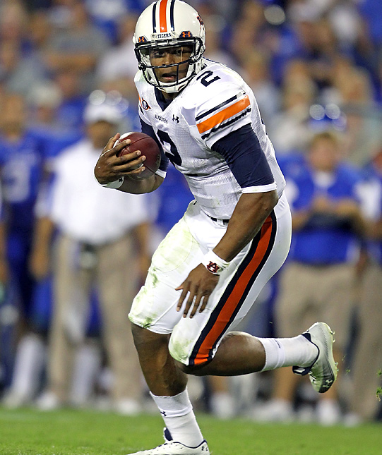 If Denard Robinson or LaMichael James should slip in the coming weeks, Auburn's Cameron Newton may serve as the ideal Heisman candidate by season's end. Against the Wildcats, the Tigers QB accounted for 408 yards and four TDs, while ensuring Auburn's win with a series of clock-draining first downs amid the stretch run.