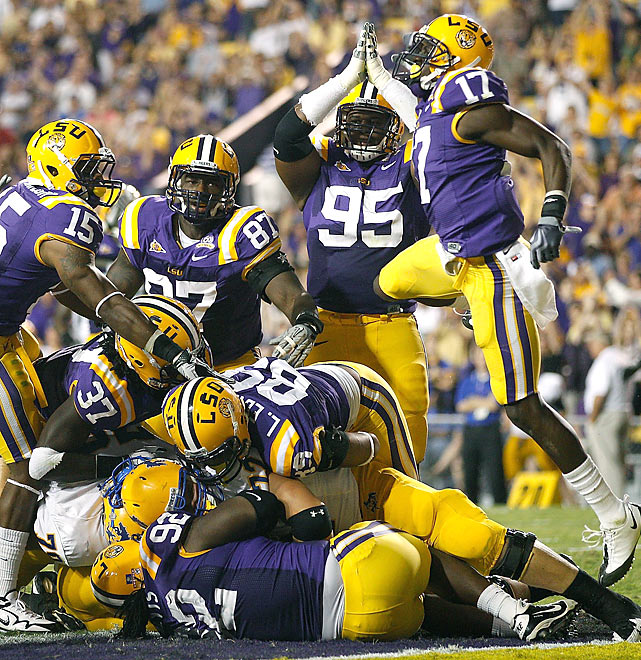 The LSU defense surrended only 219 yards and 11 first downs against its in-state rival from the Southland Conference. The 7-0 Tigers can now look forward to their much-anticipated clash with No. 7 Auburn -- with the winner garnering the upper hand in the SEC West ... and BCS title-game consideration.