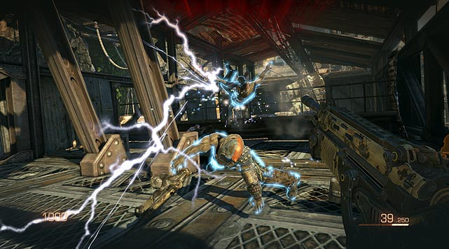 Bulletstorm, a first-person sci-fi shooter,  isn't just about killing masses of enemies in the bloodiest manner possible. It's about how you kill them. Unleash an electric coil that brings your enemies close enough to kick or, better yet, unload a shotgun blast in his face.    There are also items and structures on the screen that you can use your coil on as well, making contextual gameplay a key part of the Bulletstorm experience. Add in big boss battles and innovative weapons such as the bouncing-cannonball launcher and you have a winner.    Bullestorm is expected to go on sale February 22, 2011.