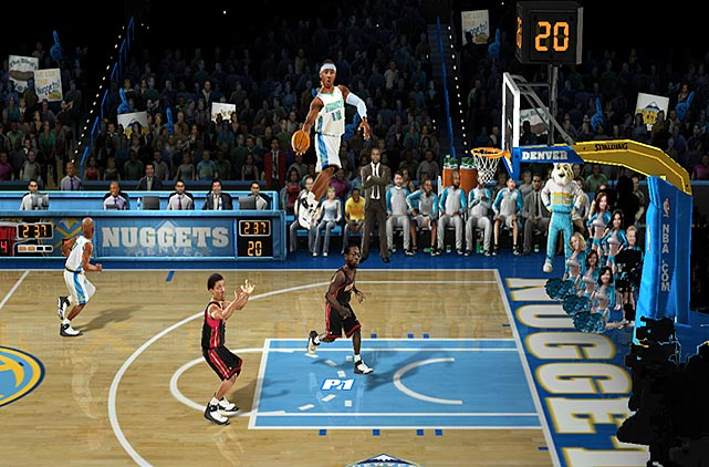"The Wii seems tailor-made for EA Sports' NBA Jam reboot, 17 years after Midway's coin-op classic ran a full-court press on teenagers' wallets. While the Nintendo console's various ""family modes"" on previous sports games have frequently left veteran gamers bored and disinterested, the ""pick-up-and-play"" ethos has always been at the core of NBA Jam's two-on-two frenetic style of basketball.    But make no mistake: Jam is no mere nostalgia act. Updated rosters and post-millennial catchphrases (""Boom goes the dynamite!"") blend seamlessly with the game's old-school mechanics and aesthetics (""He's heating up!).    A Remix Mode lends depth to the proceedings -- giving users three challenges to complete for each NBA franchise -- but Classic Mode is alone worth the price of admission for gamers who remember pumping quarter after quarter into the stand-up version years ago.    Even without an online multiplayer mode -- the title's only serious drawback -- NBA Jam ranks among the best sports titles in the Wii's four-year history.   Score: 8/10"