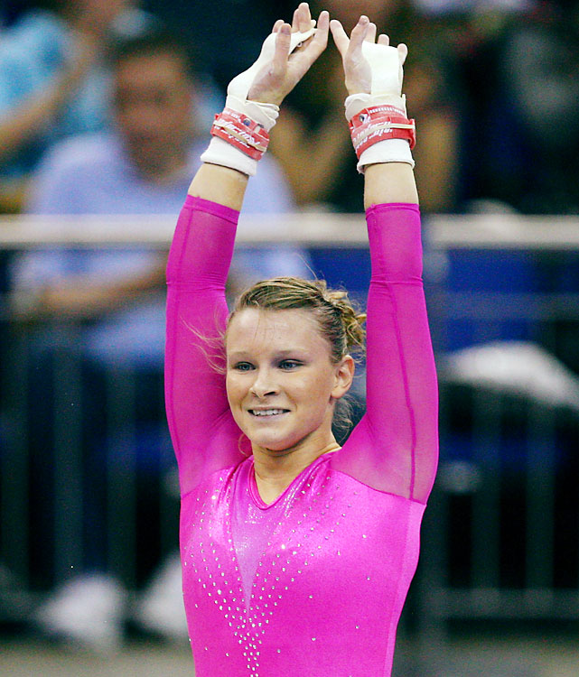 Sloan, a 2008 Olympian, almost didn't get the chance to defend her world all-around championship from 2009. A pectoral injury limited her at nationals in August, but if she's ready for a full slate of events, she's still an all-around favorite.