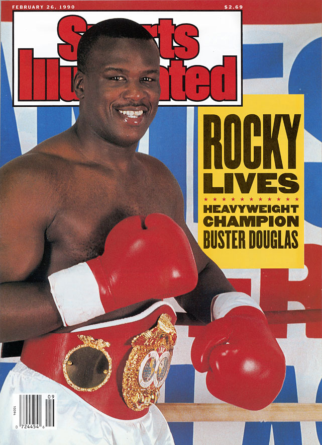 In one of sports' all-time great upsets, Douglas -- a 42-to-1 longshot -- knocked out Mike Tyson at the Tokyo Dome to become undisputed heavyweight champion.