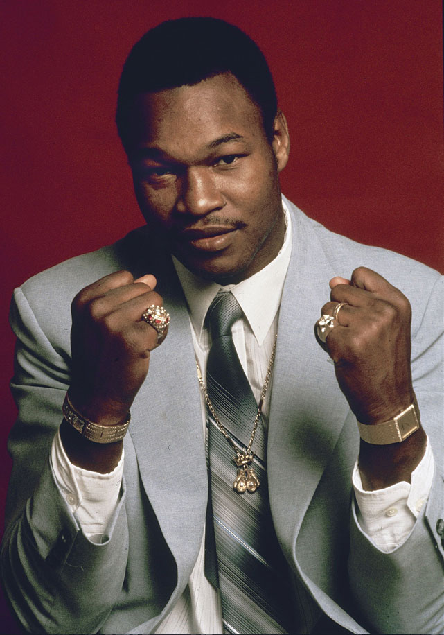 One of history's most underappreciated heavyweight champions, the Easton Assassin captured the WBC heavyweight title with a March 1978 victory over Earnie Shavers and made eight defenses before winning the lineal title with a 1980 stoppage of a faded Ali. Holmes' 20 successful title defenses ranks second only to Joe Louis.