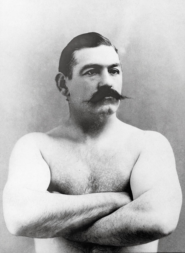 The last bare-knuckle champion from the days prior to the Marquess of Queensberry rules, the Boston Strong Boy was the first American athlete to become a national celebrity. His lone recognized defeat came against James J. Corbett in his final fight.
