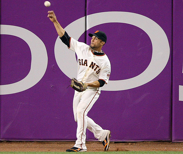 The Giants couldn't have hoped for a better defensive outfielder than Torres, who committed just one error over the course of the entire 2010 season.  He also impressed with his arm, racking up seven outfield assists for San Francisco.