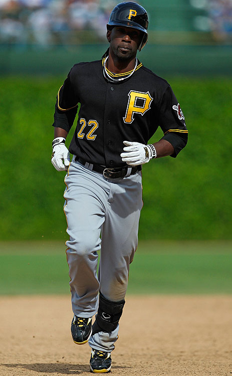 McCutchen had the best game of his career on May 14, 2010 in Chicago, when the Pirates' outfielder went five-for-five with four singles, a home run and two stolen bases in a win over the Cubs.
