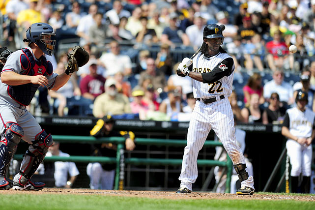 Demonstrating patience at the plate as well as power, McCutchen drew 70 walks last season for the Pirates.  That placed him ahead of perennial NL sluggers like David Wright, Matt Holliday and Chase Utley in that category.