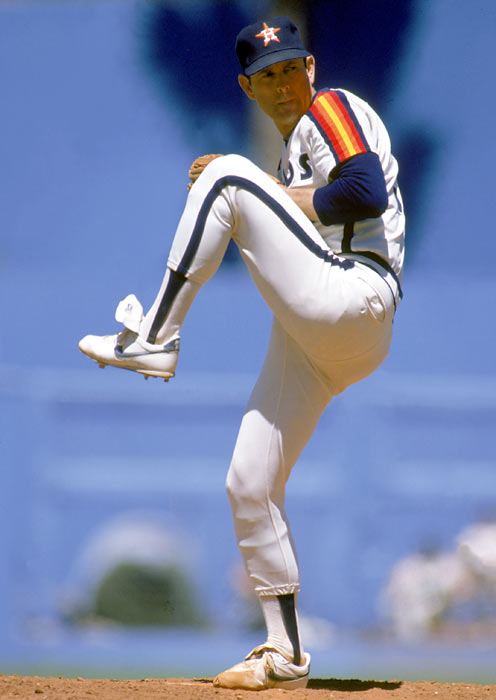 Acquired by Houston prior to the 1980 season, Nolan Ryan was a strikeout machine, whiffing exactly 200 batters while going 11-10.  The Phillies seemed to have his number in the NLCS, as Ryan allowed eight earned runs in just 13.1 innings pitched. Houston fell just short of Philadelphia three games to two.