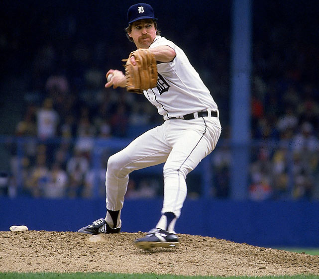 A 19-game winner during the regular season, Tigers' pitcher Jack Morris continued to baffle opponents during the 1984 World Series.  He retired the final nine Padres hitters to complete his Game 1 victory, and went the distance again in Game 4, allowing a mere five hits.  Morris recorded an ERA of 2.00 over his 18 innings pitched as the Tigers cruised to a 4-1 series win.
