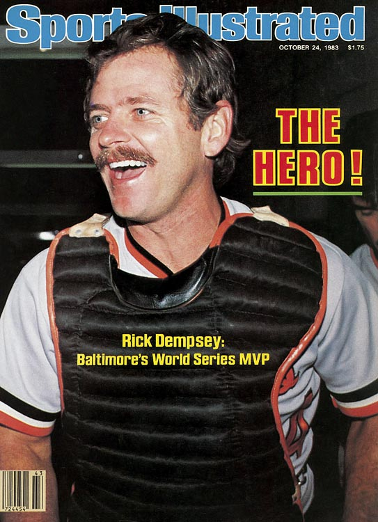 Baltimore was in danger of falling behind two games to none when Rick Dempsey stepped to the plate in the bottom of the fifth of Game 2.  The journeyman catcher whacked a go-ahead double, kick-starting the Orioles to a 4-1 victory.  Dempsey scored the tying run in Game 3 and added a home run in Game 5, capturing MVP honors as Baltimore defeated Philadelphia four games to one.