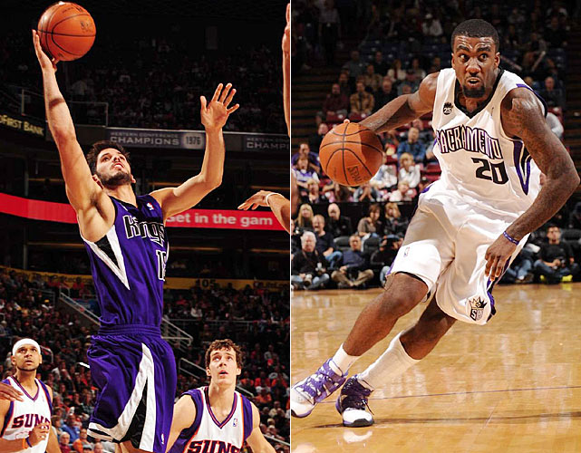 Casspi's first year in the league turned into a marketer's dream as he became the first Israeli in the NBA, and a darn good one at that; he averaged 10.3 points in 25.1 minutes last season. This year, he'll have to duke it out with third-year player and fellow 22-year-old Greene.