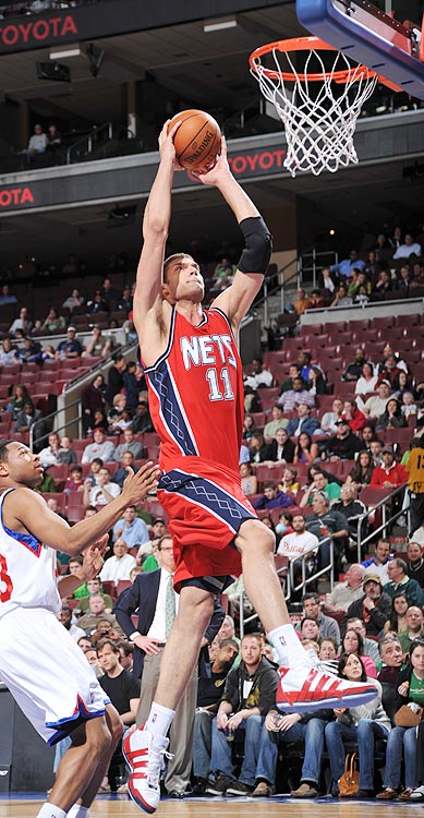 2009-10 Key Stats: 18.8 ppg | 8.7 rpg | 1.7 bpg | 81.7% FT   The Nets are a team recovering from last season's 12-win debacle, and no player is more vital to their success than Brook Lopez.  He rebounds, blocks shots and can shoot free throws better than most big men.  And unless the Nets trade for Carmelo Anthony, Lopez has few other scorers to compete with for touches inside.  Only 22 years old, Lopez's game isn't done growing.  If he slips to you in the second round, you might be getting a steal.