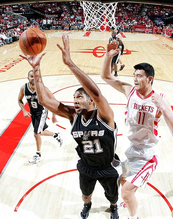 2009-10 Key Stats: 17.9 ppg | 10.1 rpg | 1.5 bpg | 3.2 apg   Tim Duncan is entering the tail end of his career, but he can still be a valuable contributor to your fantasy team.   His numbers across the board have declined the past three seasons, and blocks and rebounds are usually the skills to fall most precipitously as a player ages.  You also have to fear that Gregg Popovich will limit Duncan's minutes to keep him well rested for the playoffs.  But it's not all doom and gloom. Duncan's numbers aren't going to fall of a cliff, and he's always been a good passer, which is a nice bonus stat from a big man.  All that said, let someone else take him in the third or fourth round.
