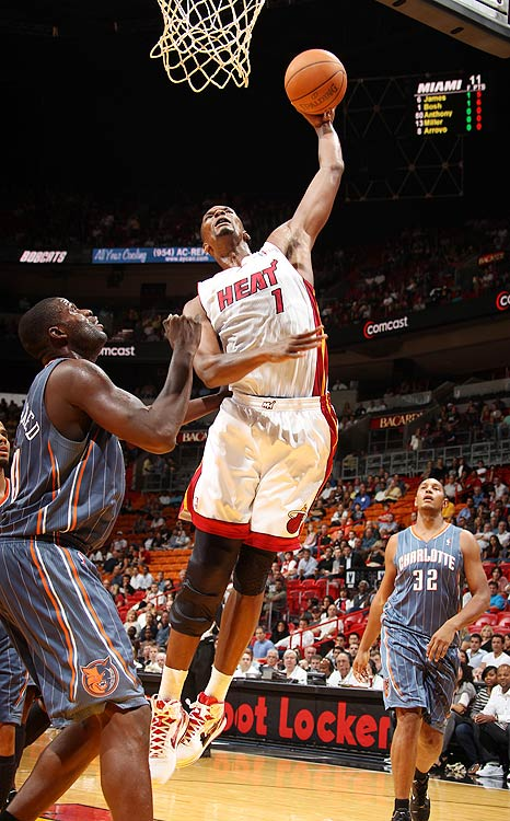 2009-10 Key Stats: 24 ppg | 10.8 rpg | 1 bpg | 2.4 apg   Like the other members of Miami Thrice, Chris Bosh's stats are likely to suffer in South Beach.  The bad news: He's been a consistent 20-point scorer the past five seasons, and alongside James and Wade it would appear those days are over.  The good news: The Miami frontcourt is razor thin.  Bosh should have no problem averaging 10-plus rebounds, along with some nice percentages.  And depending on the offensive style the Heat implement, Bosh could average a career-high in assists as well.